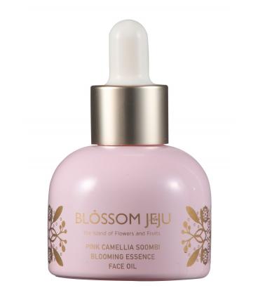 Blossom Jeju 粉紅山茶神菲花朵潤澤密集精華油30ml