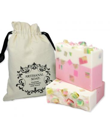 Artisanal Soap Rose & Apple Soap 玫瑰蘋果手工皂140g